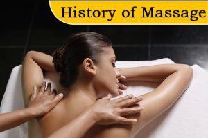 History of massage